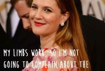 The Love Quotes Celebrity Quotes : Drew Barrymore. | 29 Celebrities Saying Sensible Things About Body Image…