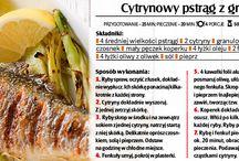 Przepisy kulinarne - potrawy z ryb i owoców morza