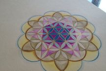 Sacred Geometry and Mandala / Combining Sacred geometry to create healing Madalas