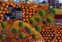 Four Seasons Folk Art / by Sam Daisy