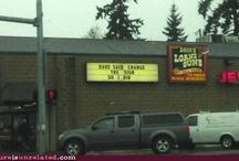 Funny Signs / by Julia Harrold