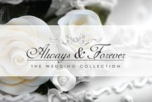 Always & Forever - The Wedding Collection / Craft Consortium premium wedding collection for DIY Stationery & Projects