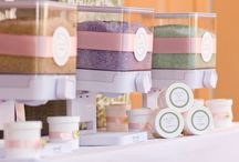 Beautiful bath products