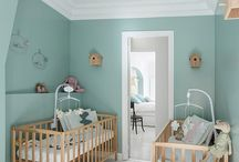 turquoise - children's room