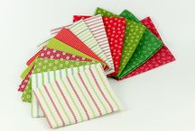 Candy Cane / Fabric collection designed by Renee Nanneman
