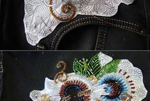 embroidery, beading