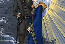 Alarkling [shadow & bone] / inspired by Alina Starkov and the Darkling from Shadow and Bone trilogy by Leigh Bardugo.