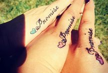Tattoos FOR friends / BFF FOR ever us !