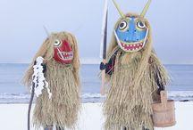 Folk Magic / Cultural traditions involving dressing up.