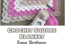 Crochet blanket sqaures