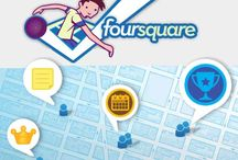 foursquare / by Sandrine Andro