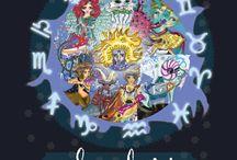 Zodiac Signs / Imagenes correspondientes a un calendario de los signos del Zodiaco reealizado por mi :D