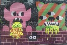 graffiti ♥ ♥ / by Erin Hambrick