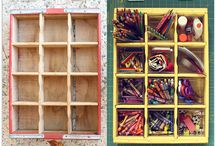 Storage and decorating / by Morgan Holtz