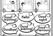 English greeting