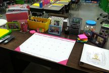 Teacher desk space