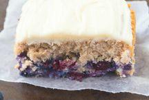 Healthy Flourless Blueberry Breakfast Cake / Healthy Flourless Blueberry Breakfast Cake