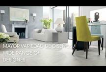 Ceramic stone collections by Porcelanosa and Venis