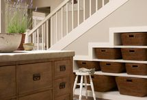 storage under staircases