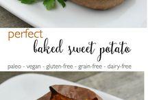 Whole 30- baked sweet potato