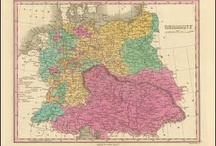 Germany Antique Maps / Antique maps of Germany present an interesting view of the many changes in Germany over the Centuries. These original old maps of Germany show the ebb and flow of political and geographical change. Vintage maps of Germany often show Country and Kingdom names. The German boundaries changed over the years as one power rose and another declined. These historical Germany maps, to include antique maps of Berlin, Munich and Frankfort are truly pieces of German history on paper.
