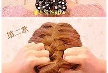 Hair heart