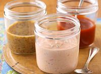 sauces and condiments / by Heather Mclaughlin Ortiz