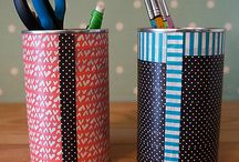 Washi Tape ideas / by Kath Chown