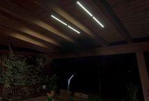 illuminazione gazebo lampade e strisce led