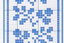 Křížková výšivka Různé - Cross Stitch