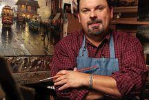 Thomas Kincaid / The Painter of Light. My favorite artist. RIP Thomas! / by Nina Eary