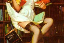 Biblioteca-Libreria-Lettura / Ovunque ci sono libri ci siamo noi. E' la nostra passione e speriamo anche la vostra.