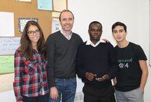 CUMPLEAÑOS del claretiano Dosithée, 2015 / Cumpleaños del alumno de español para extranjeros Dosithée, de los claretianos.