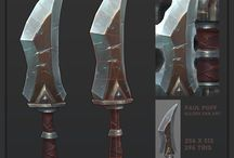 The warcraft RPG - weapons