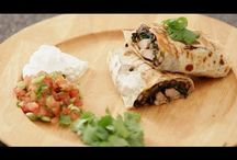 Mexican Dishes:VIDEOS