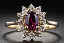 Ma Lovely Precious Stones Rings