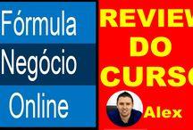Formula Negócio Online / Aprenda de forma simples e honesta como fazer dinheiro com a internet.