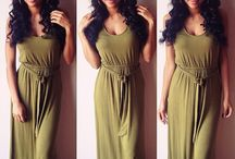 MAXI ✨ / All diffrent styles and designs of maxi dresses in the world