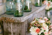 wedding vibes + decorations