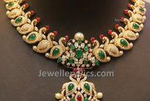 diamond necklace / Diamond necklace designs