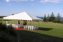 Wedding Ceremonies / Ceremony marquees and furniture! We have set up 1000's of wedding ceremonies with marquees that provide cover for your guests. Whether the weather is hot, windy or inclement you can have the insurance of knowing that you have planned for any eventuality.