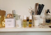 beauty routine / we are inspired by your bathroom beauty corner