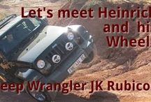 Hein and his Jeep JK Wrangler Rubicon 3.6 Pentastar / My brother in-law (Swaar) taking his Jeep JK Wrangler Rubicon 3.6 Pentastar through it's paces