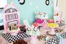 -50's birthday theme
