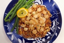 Seafood / Recipes featuring fish and shellfish. / by Allyson Pearl