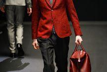 USO DO VERMELHO / by TRIBECA Moda Masculina de Luxo