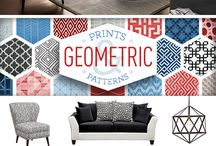 Geometric / Give your home's decor a little edge and all the right angles with the cool and contemporary Geometric Collection. Full of fun and funky patterns, these pieces are sure to bring your style full circle. / by American Signature Furniture