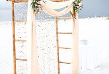 Beach Weddings / From seashell bouquets to starfish décor to exiting your reception on a boat, there are so many fantastic ideas that'll only work at this idyllic setting.