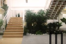 Staircase wooden / Staircase wooden steps in solid durmast by Mazzocca Wood Design Lab