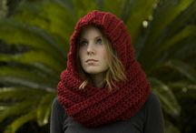 CROCHET KRAZY~ACCESSORIES~HOODED SCARVES